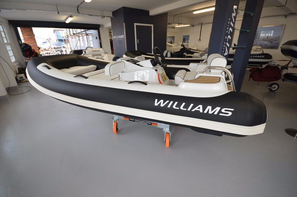 Williams Jet Tenders Turbojet 325 Sport 100HP