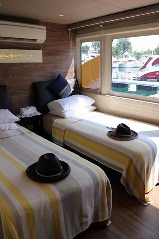 Starboardside Twin Room
