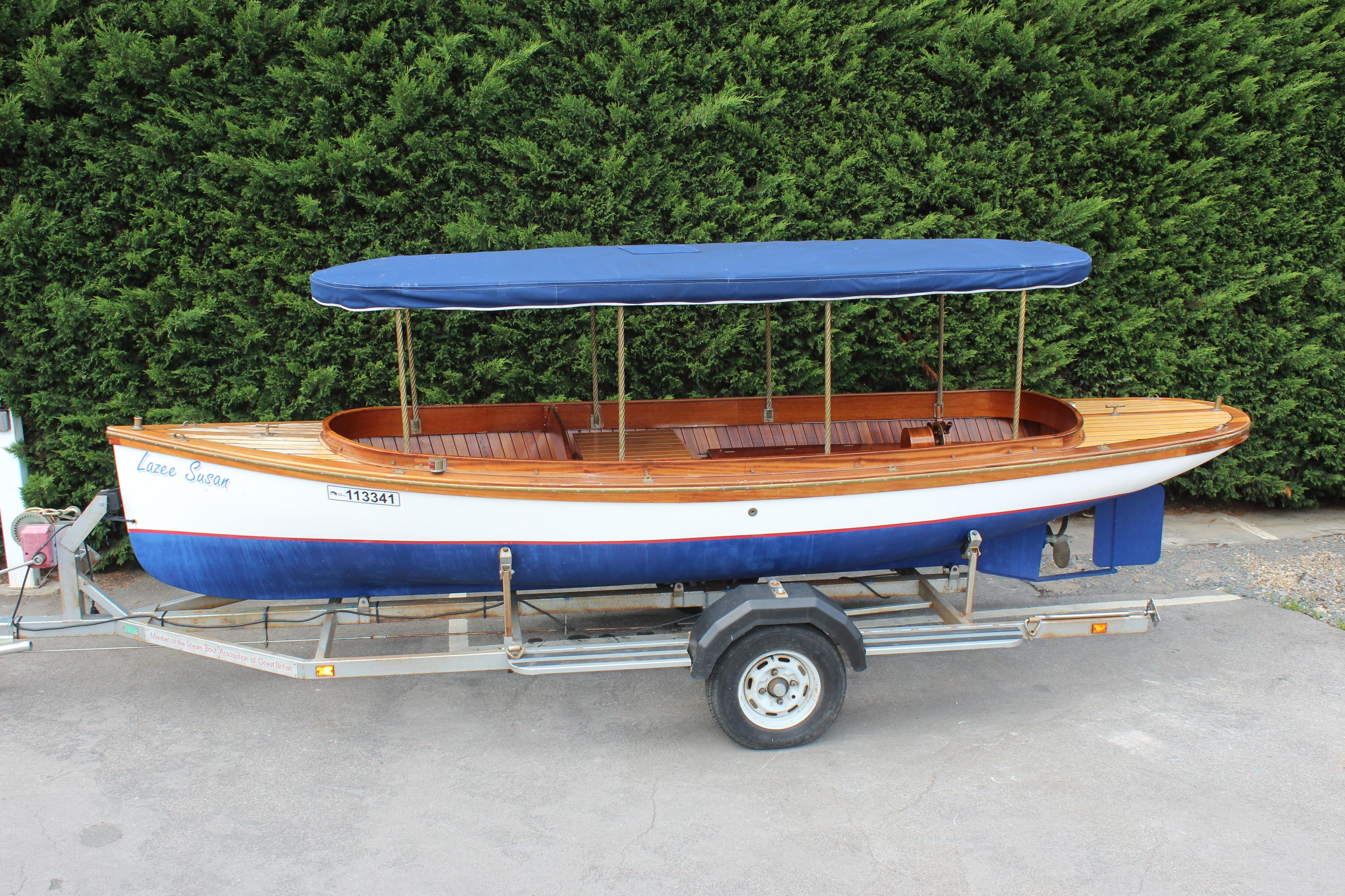 Custom 18' River Launch