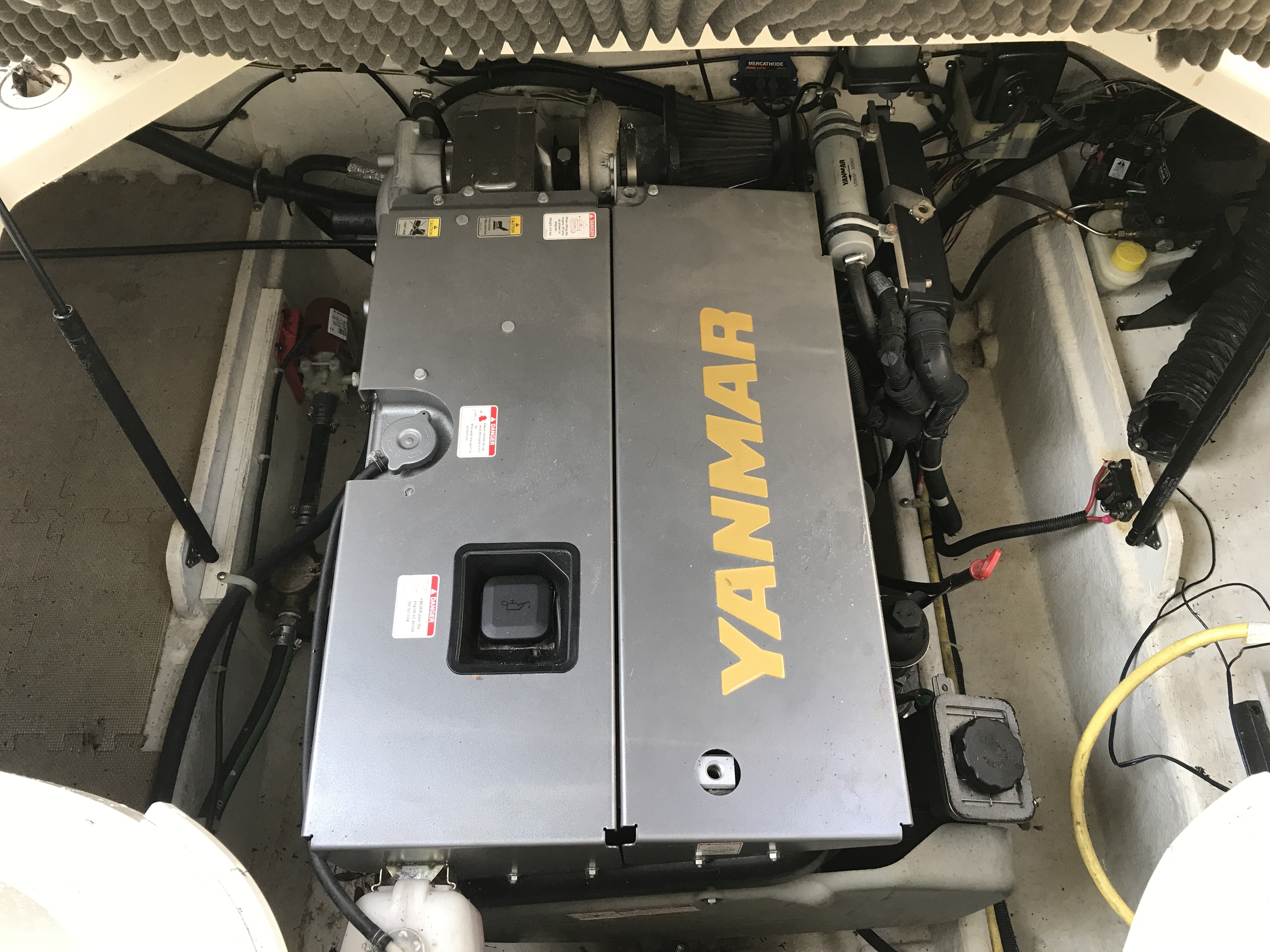 Bayliner Discovery 246 EC - New Yanmar 220HP diesel with only 80 original hours