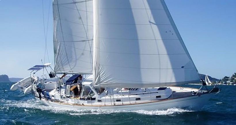 Kelly Peterson Formosa 46 Under Sail