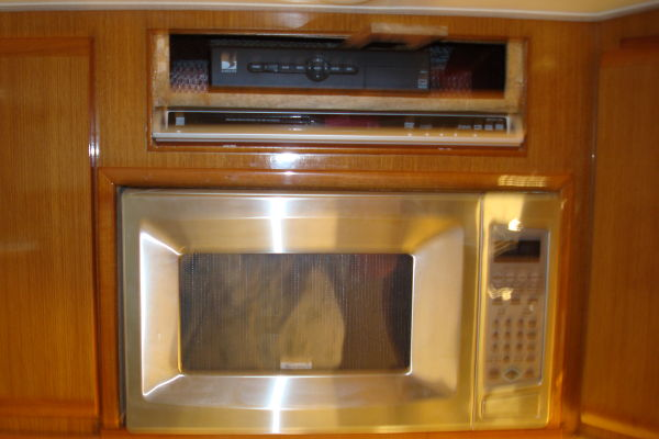 Galley Microwave & DVD