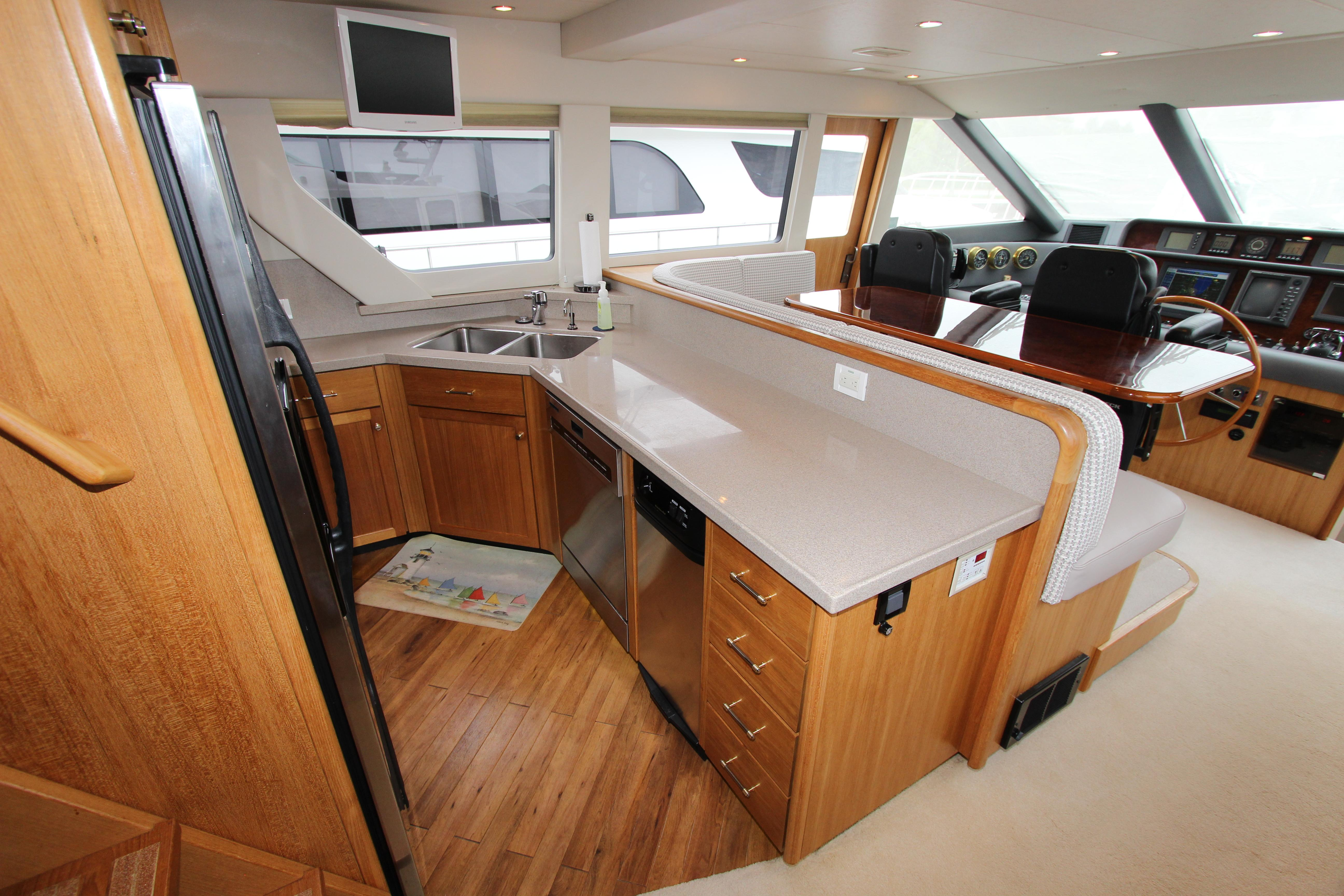 Galley And Pilothouse