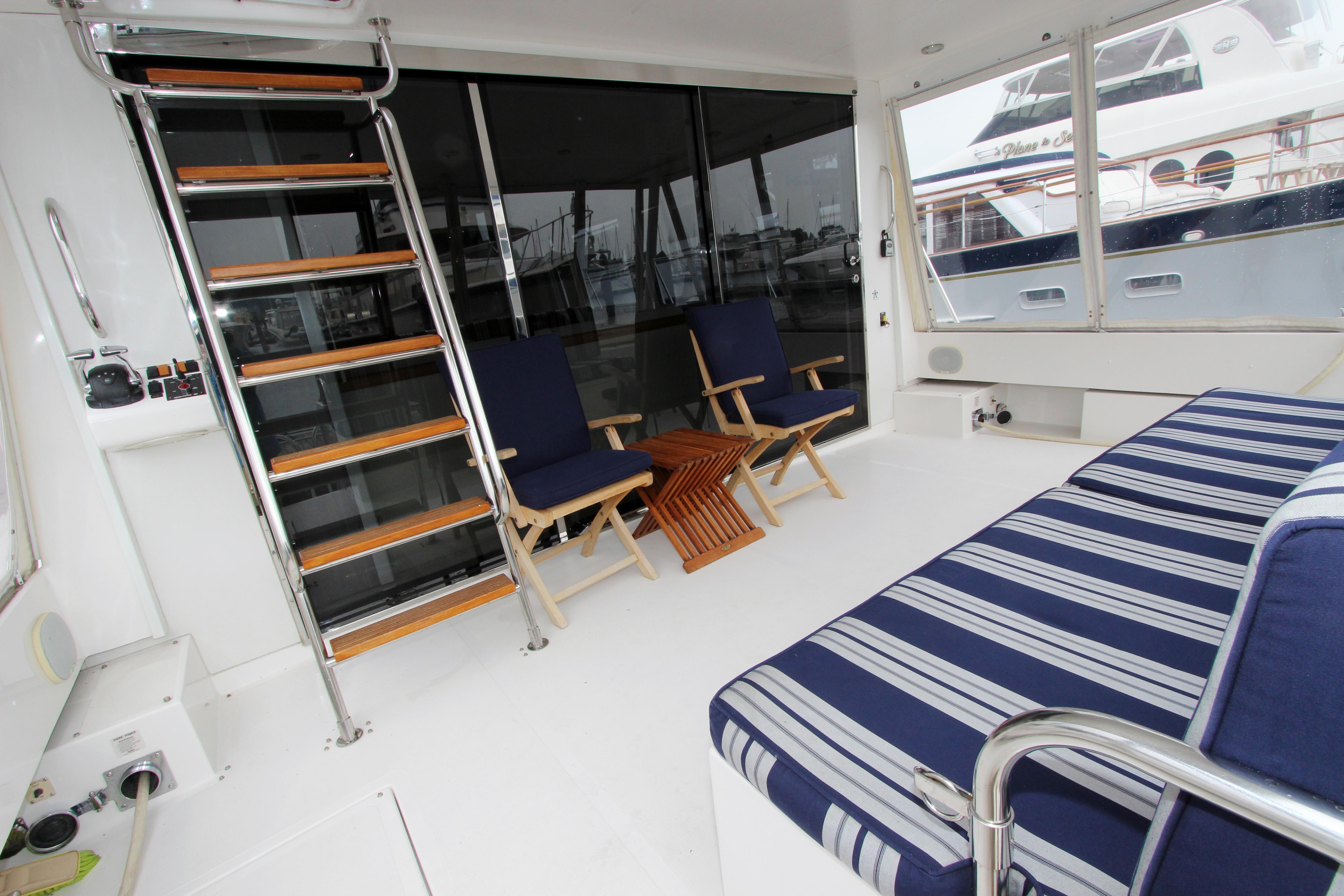 Aft Deck And Third Station