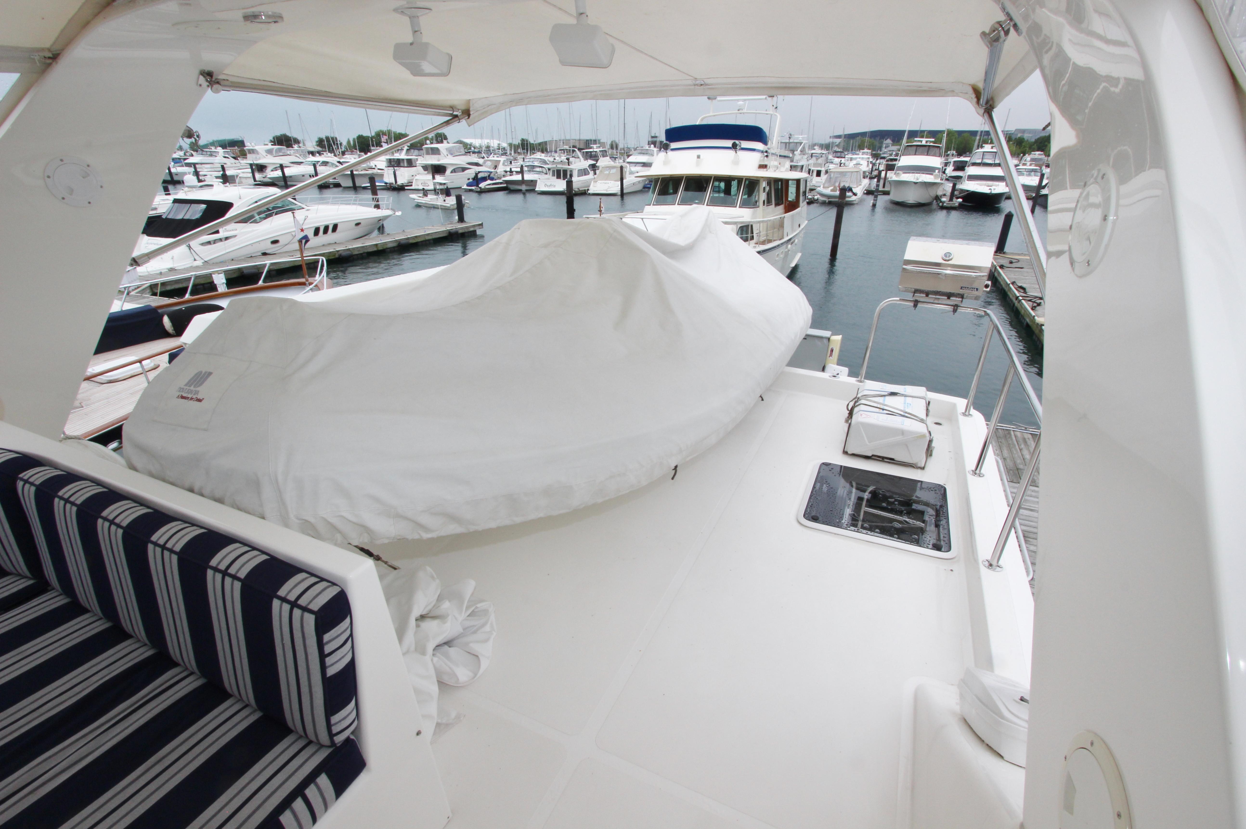 Flybridge Boat Deck