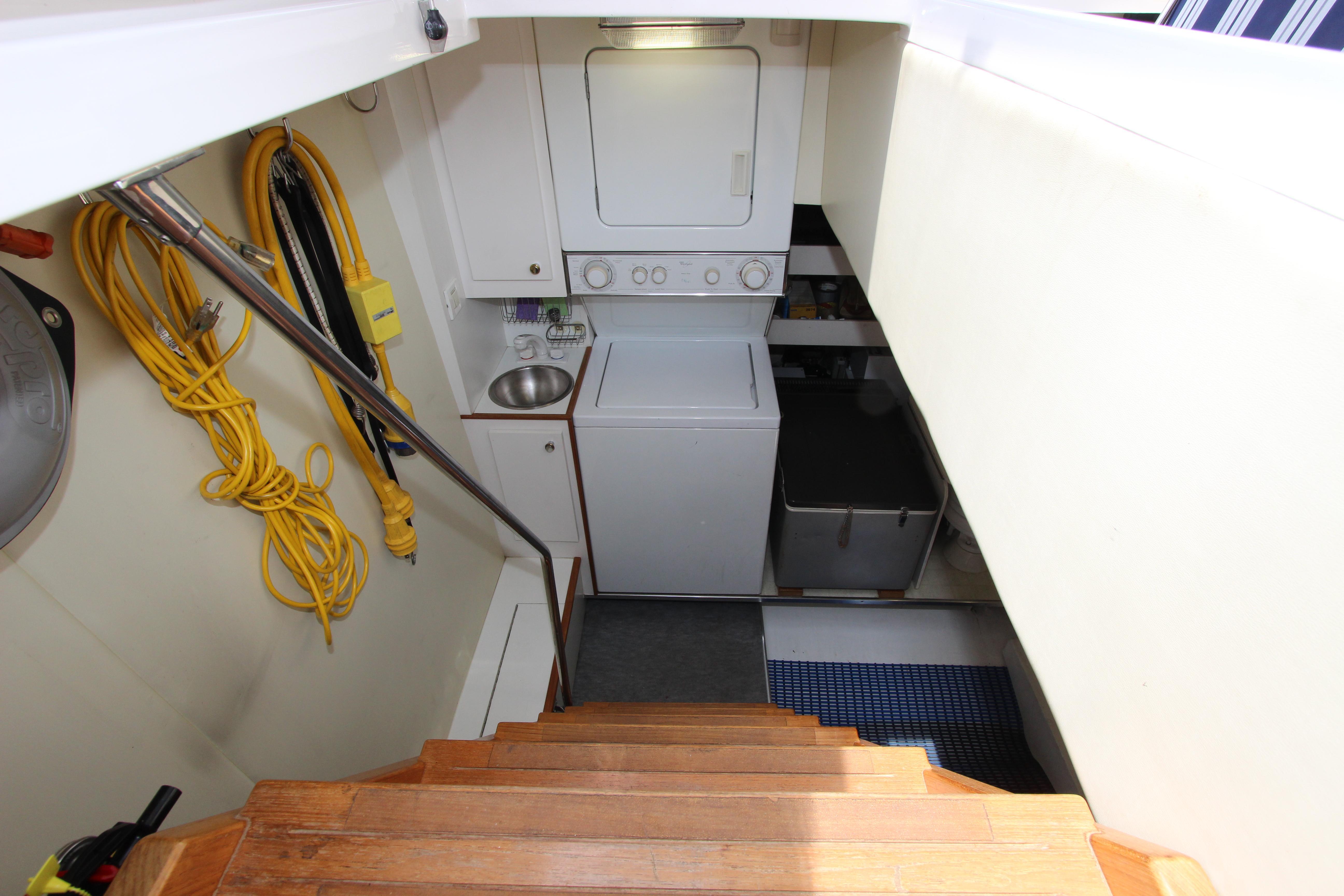 Engine Room And Crew Companionway