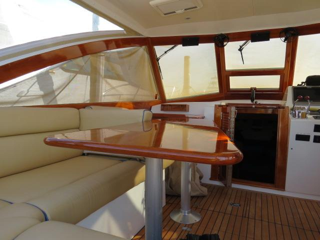 low view helm deck
