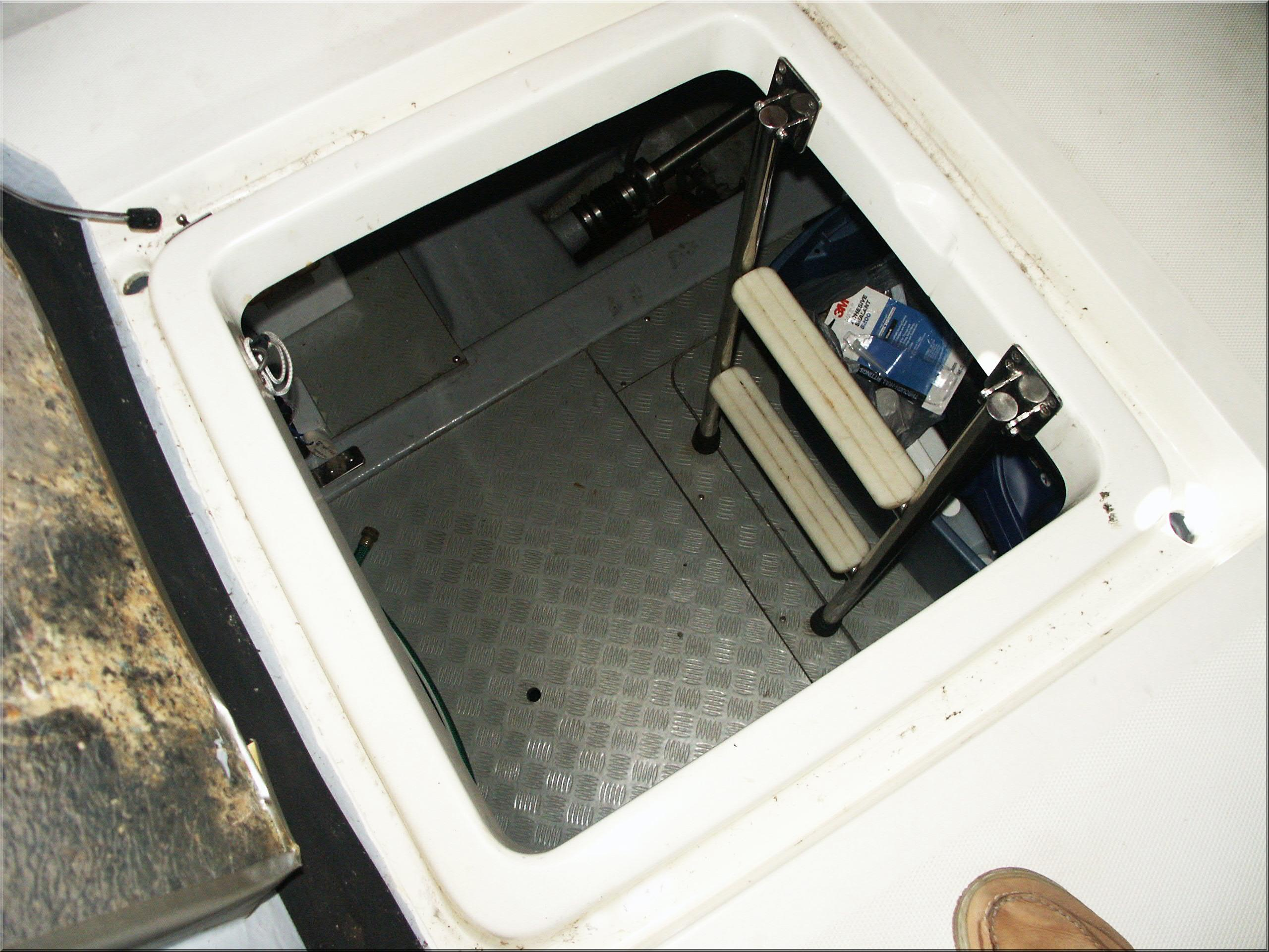 Cockpit Engine Room Access