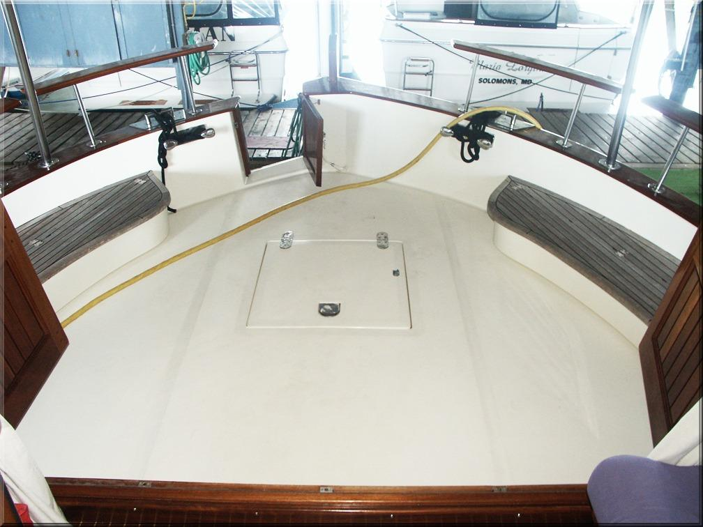 Cockpit from Wheelhouse