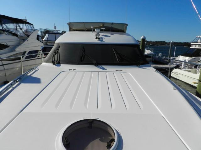 Viking Princess 61 Foredeck