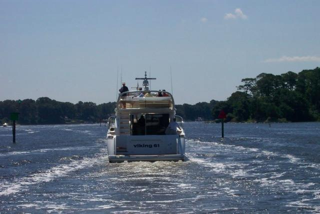 Viking Princess 61 Underway