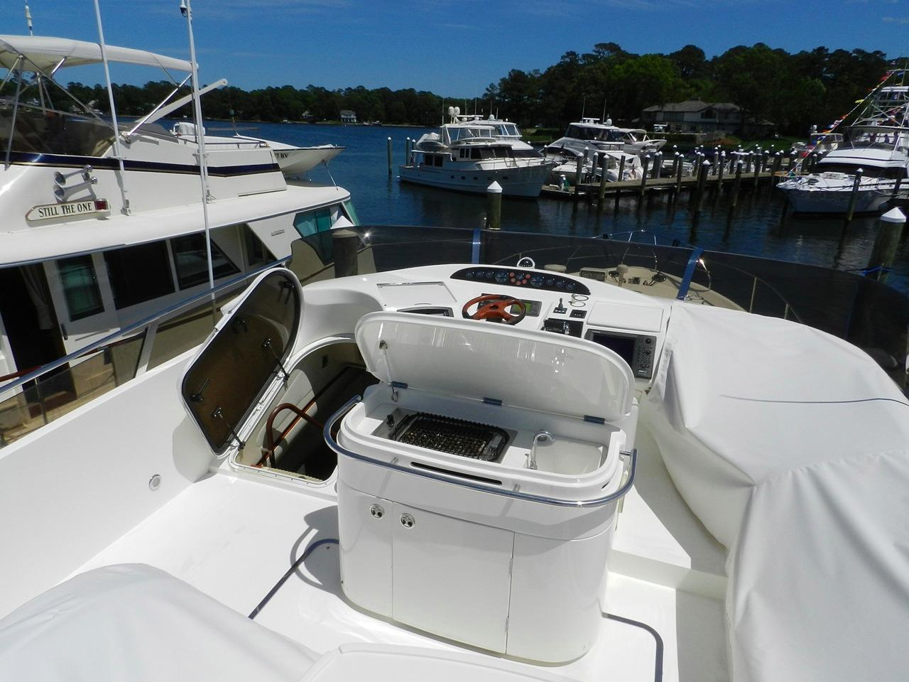 Viking Princess 61 Flubridge Sink/Grill