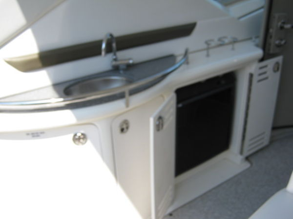 Cockpit Refrigerator / Wet Bar