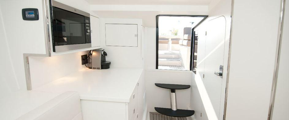 Manufacturer Provided Image: VanDutch 40 Galley
