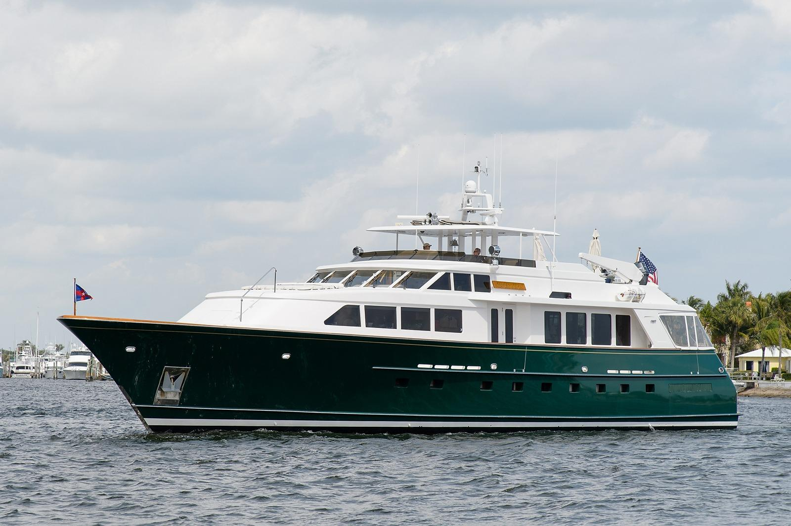 1998 Burger Raised Pilothouse