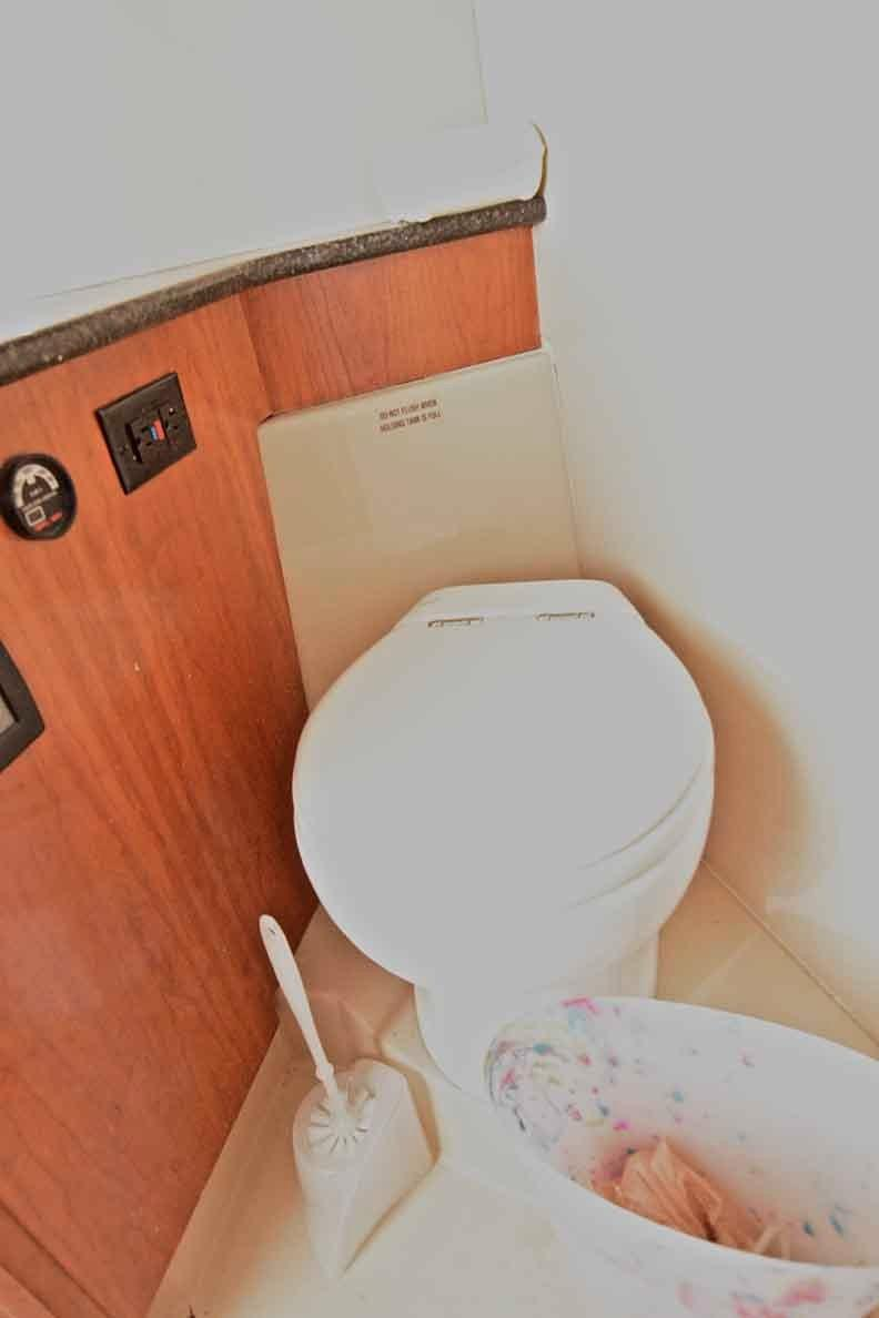 Cruisers Yachts 500 Express - Techma Toilet in Master Head