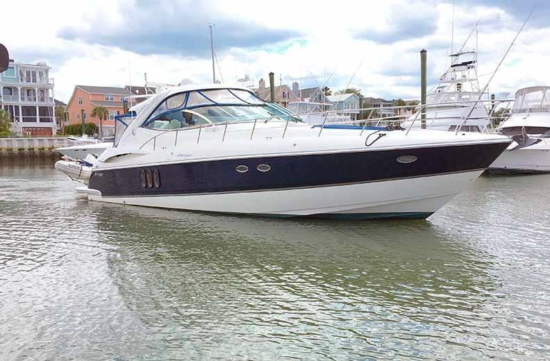 Cruisers Yachts 500 Express - Cruisers 500 Express Starboard Profile