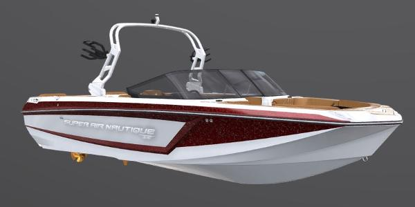 2021 Nautique boat for sale, model of the boat is Super Air Nautique GS24 & Image # 2 of 5