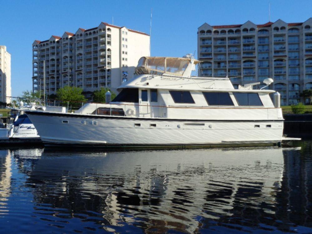 Hatteras 61 Motor Yacht - Profile
