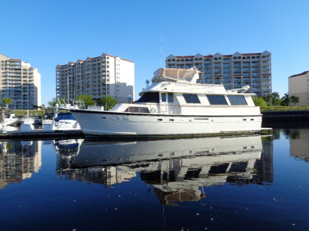 Hatteras 61 Motor Yacht - Port Side 2