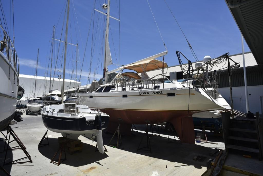 48 Oyster Black Pearl 1996 Jolly Harbour Denison Yacht Sales