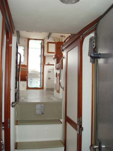 Looking Aft from Owner's Stateroom