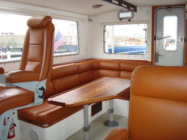 Pilothouse Stbd Side, Looking Aft