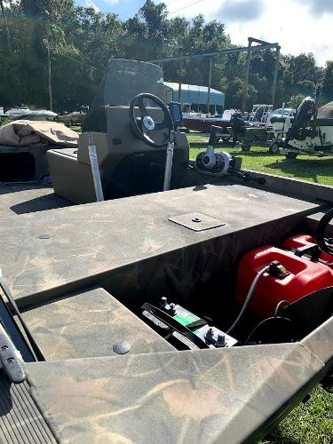 2018 Tracker Boats boat for sale, model of the boat is Grizzly 1648 SC & Image # 7 of 12