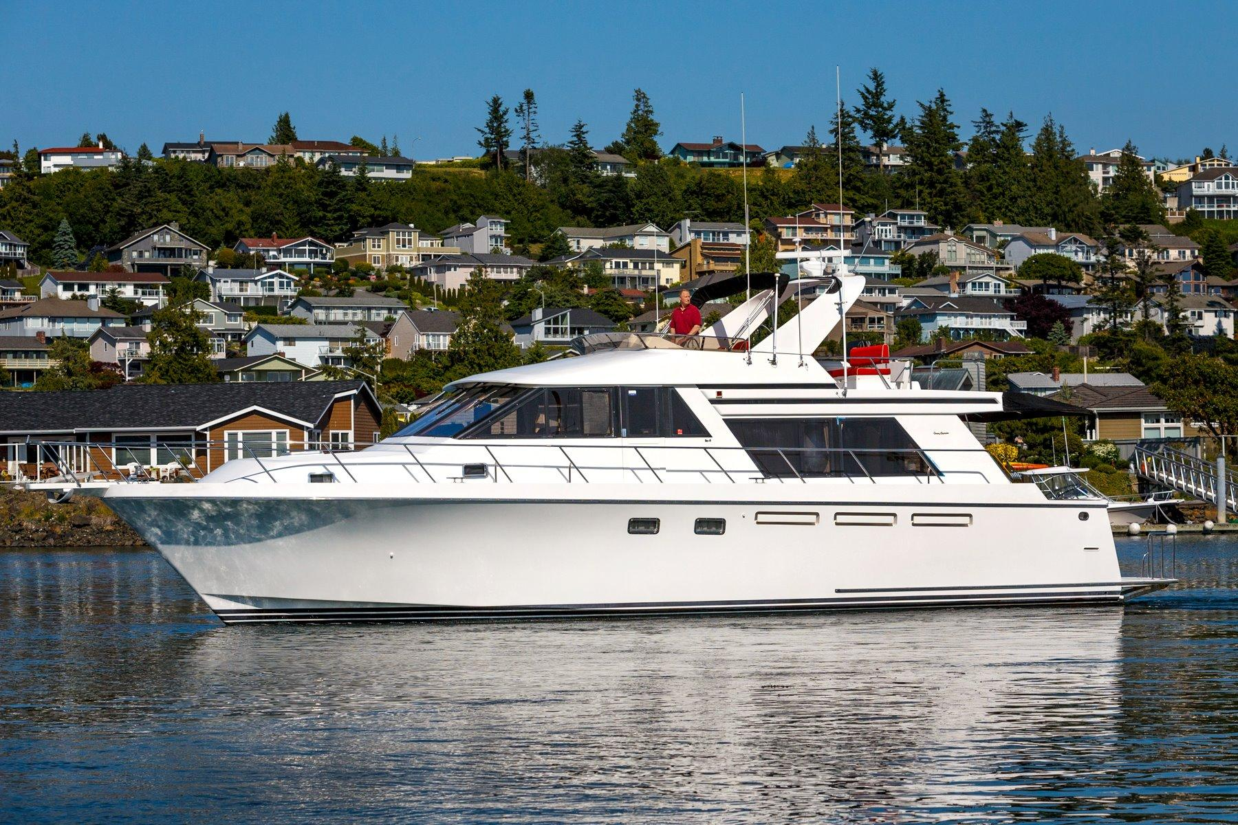 1996 Ocean Alexander 548 Pilothouse Yacht For Sale In Anacortes Wa