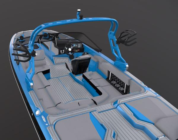2021 Nautique boat for sale, model of the boat is Super Air Nautique GS22 & Image # 3 of 5