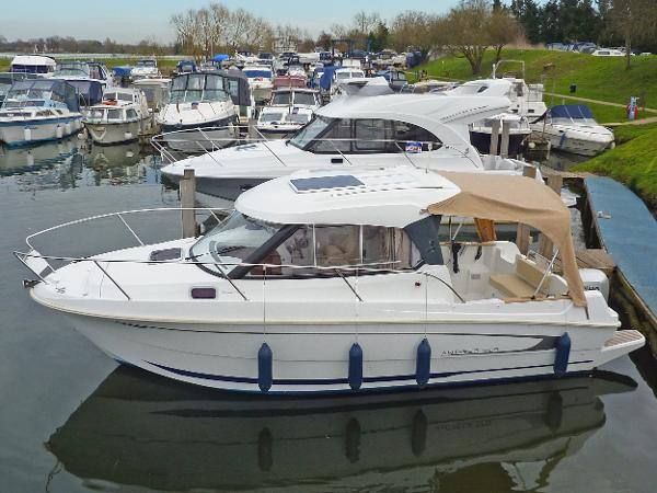 New Beneteau Antares 7.80 with 90hp...