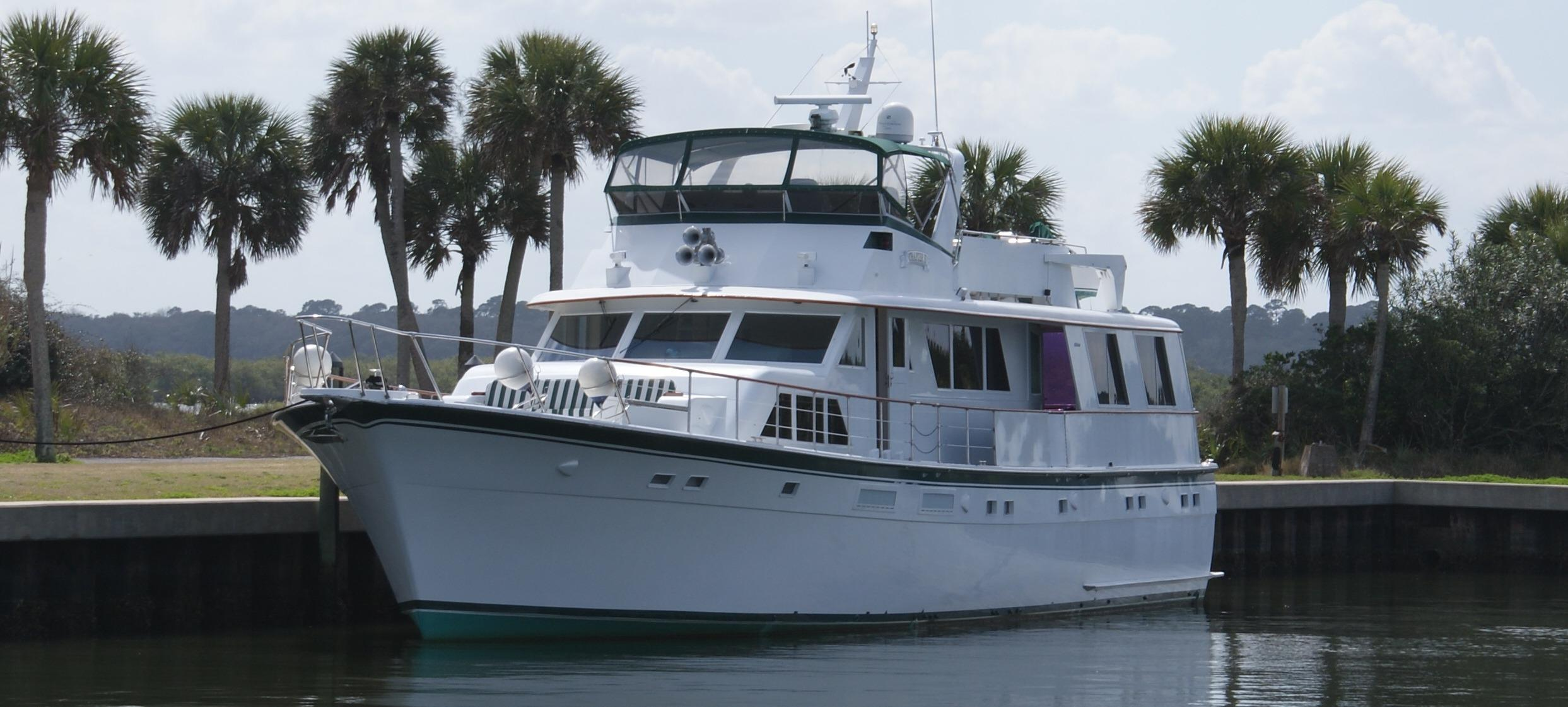 82 Hatteras 1977 Chapter 2 For Sale In St Augustine