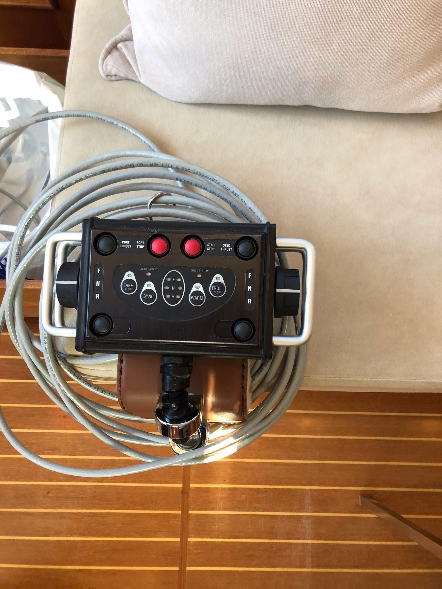 59 Grand Banks Remote Engine Control Unit
