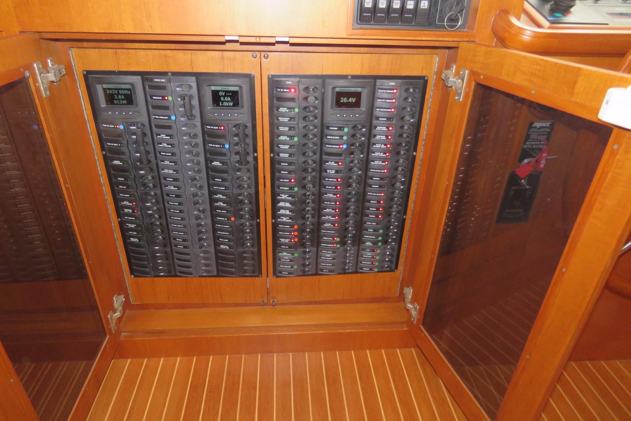 59 Grand Banks Electrical Panel