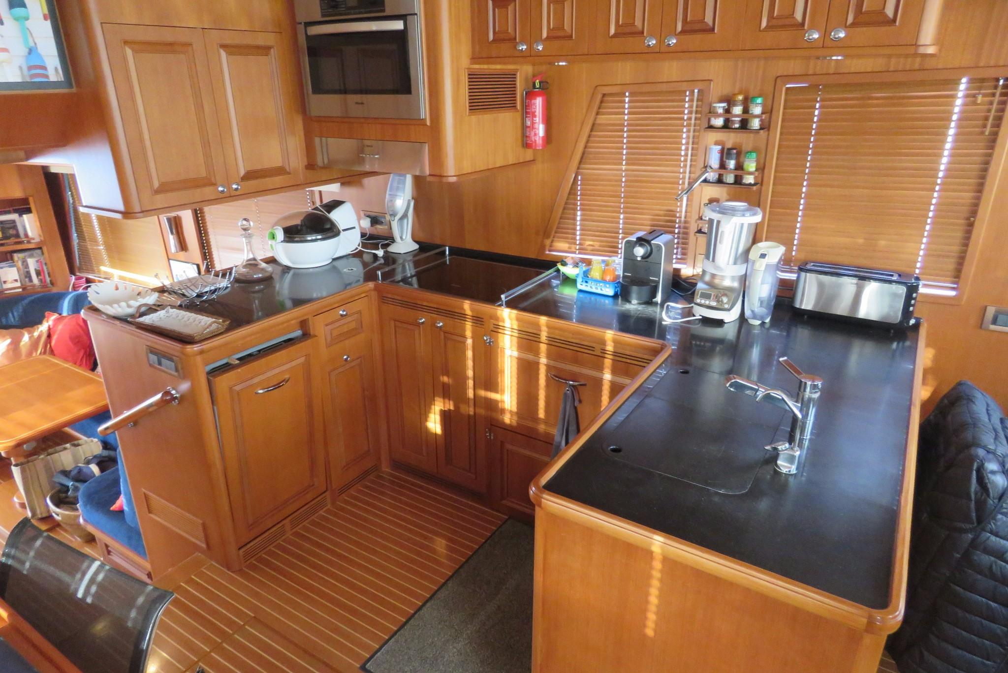 59 Grand Banks Galley
