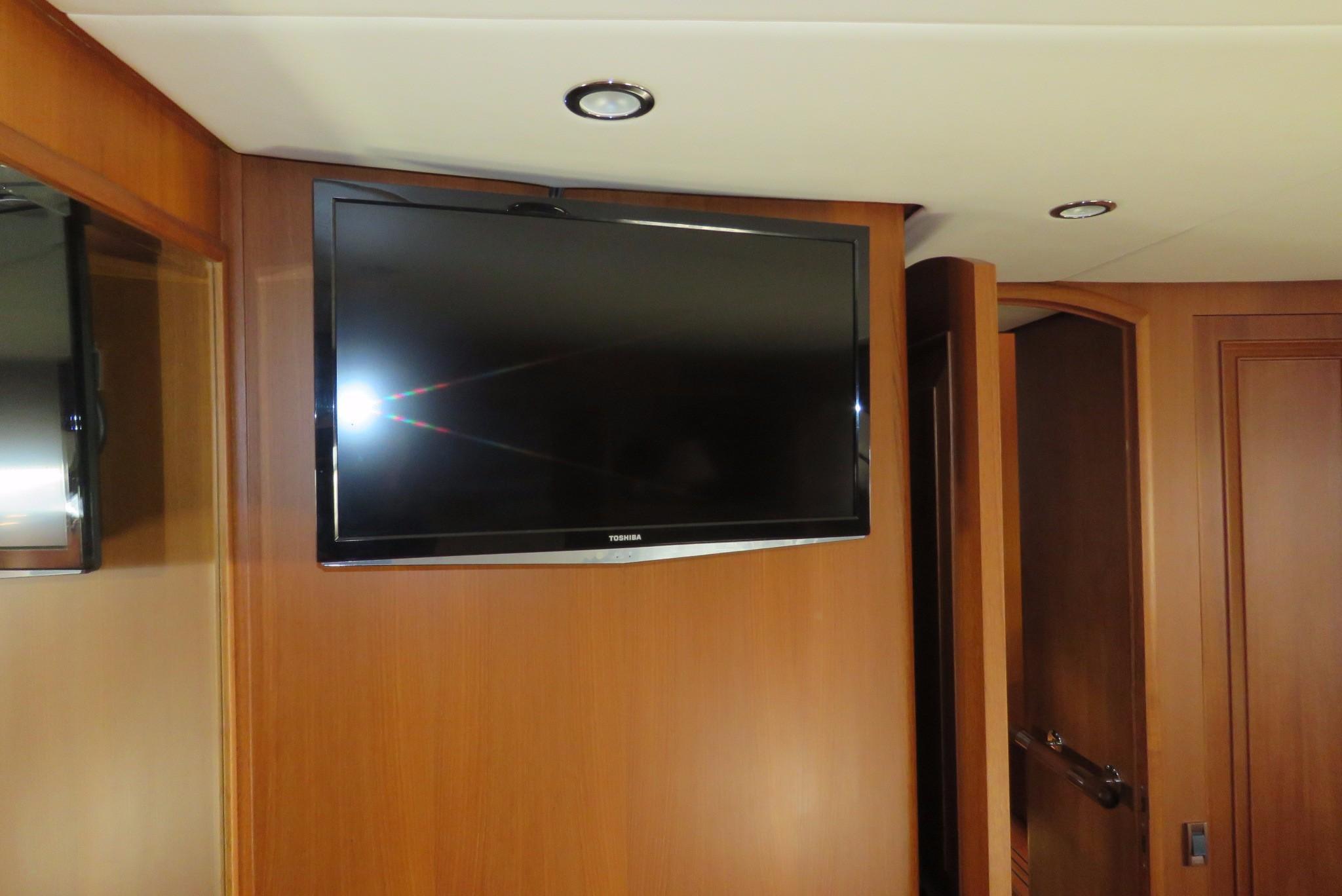 59 Grand Banks Flat Screen TV
