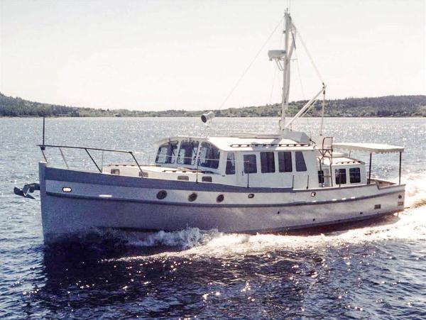 2001 47' Covey Island Trawler