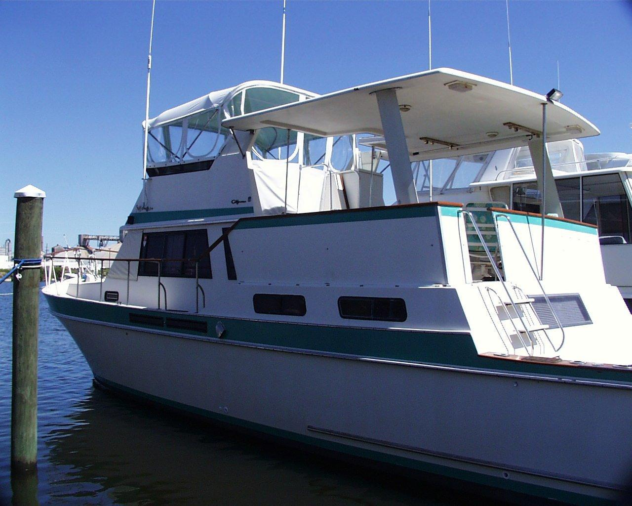 1984 Californian Cockpit Motoryacht