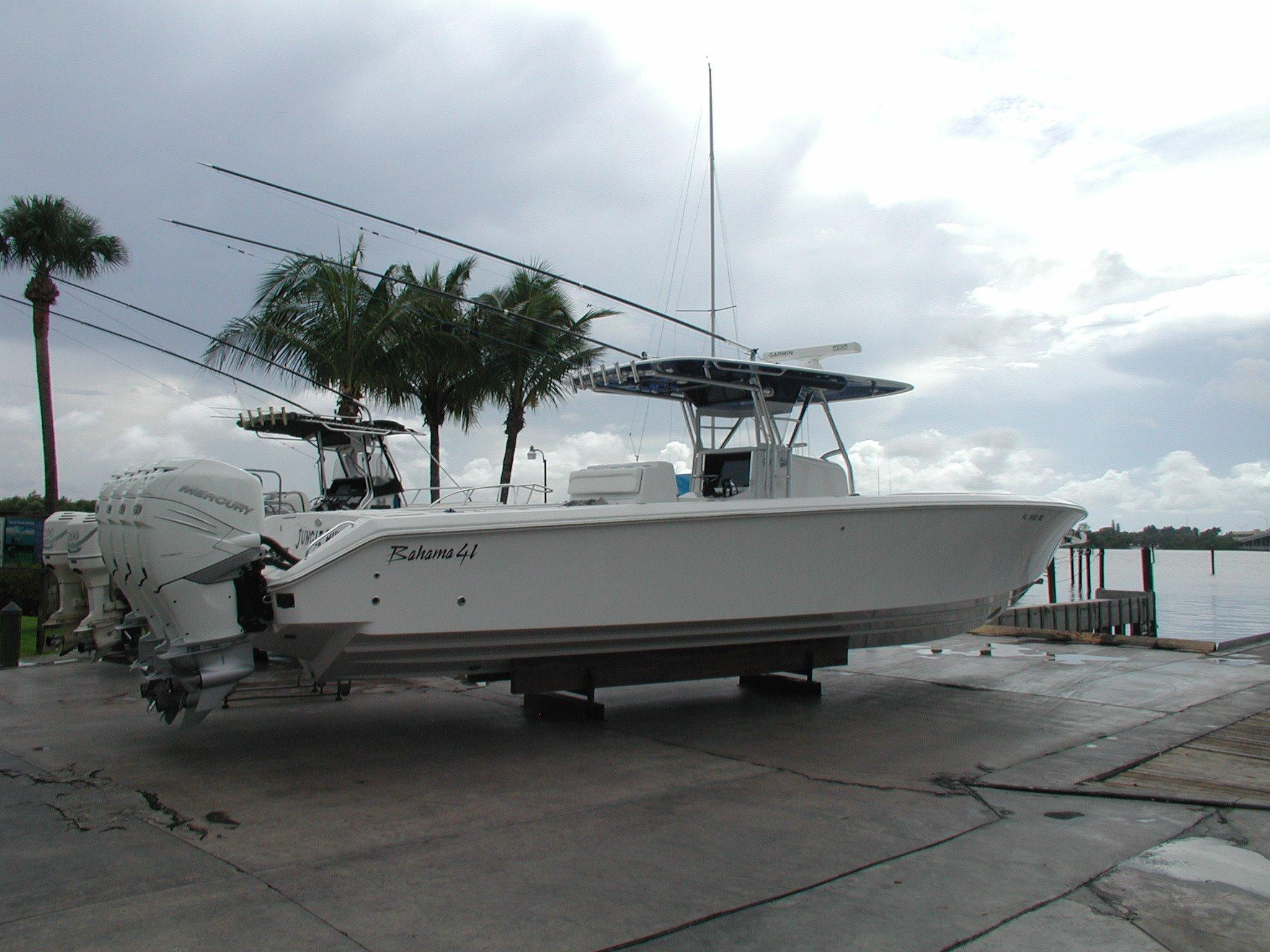 2016 Bahama 41 Open Fisherman
