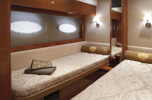Princess Yacht P54 Thailand - Starboard Cabin