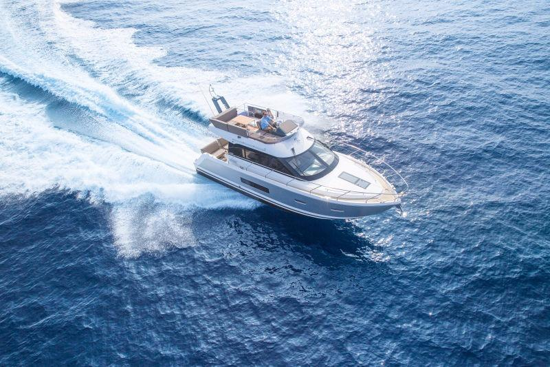 Manufacturer Provided Image: Sealine F380 Aerial View