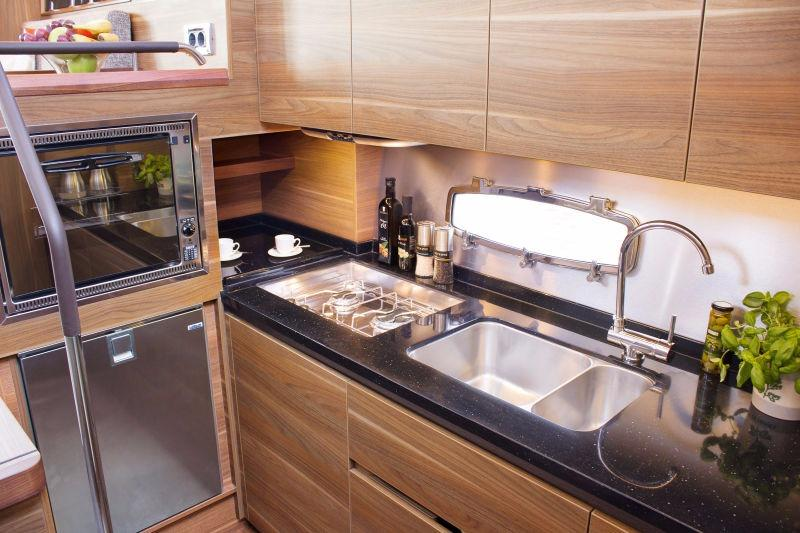 Manufacturer Provided Image: Sealine F380 Galley