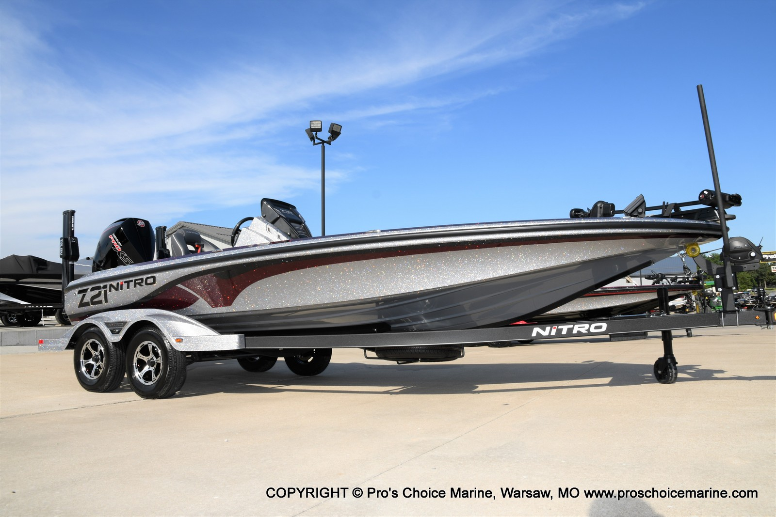 2021 Nitro boat for sale, model of the boat is Z21 Pro Package & Image # 15 of 50