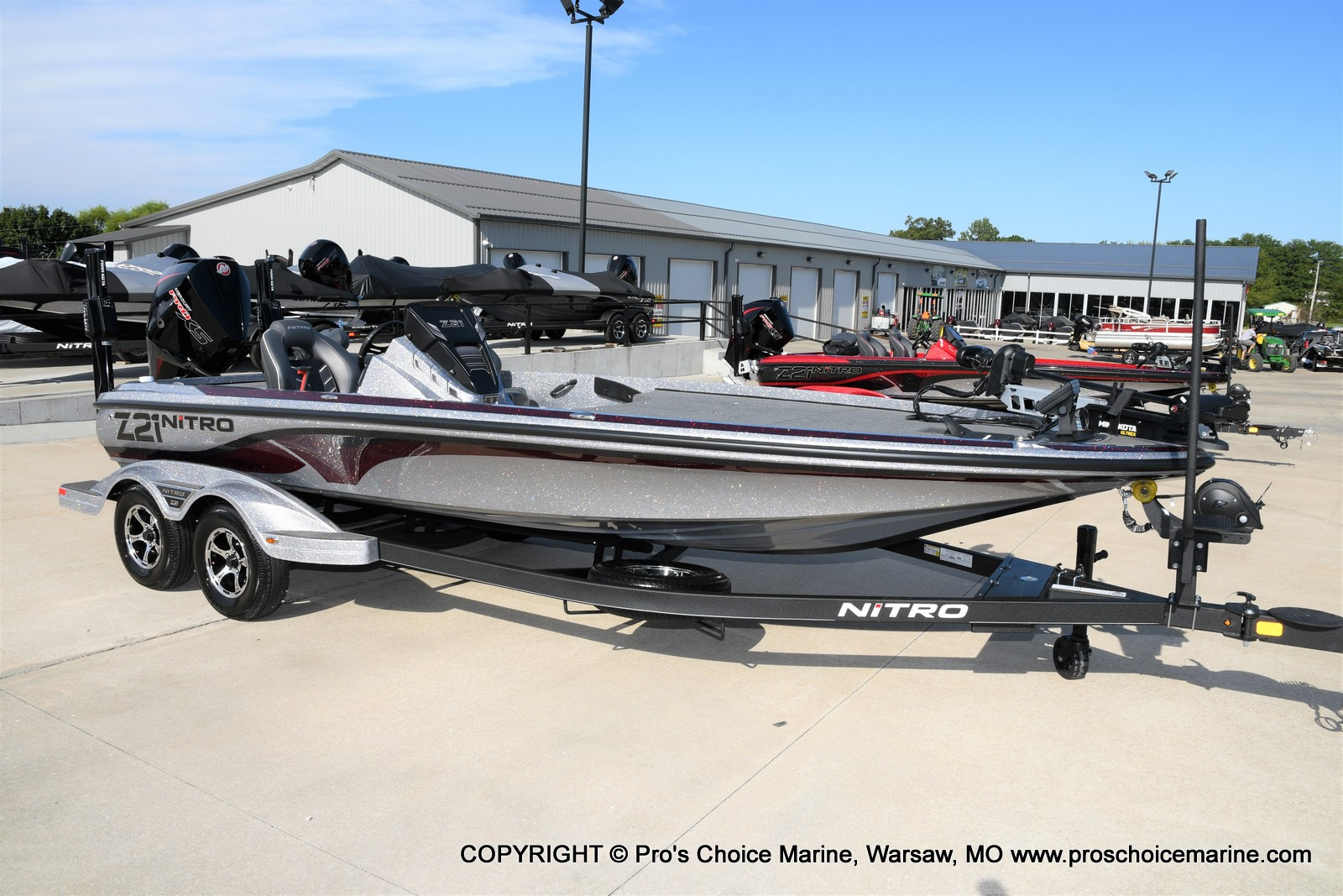 2021 Nitro boat for sale, model of the boat is Z21 Pro Package & Image # 29 of 50