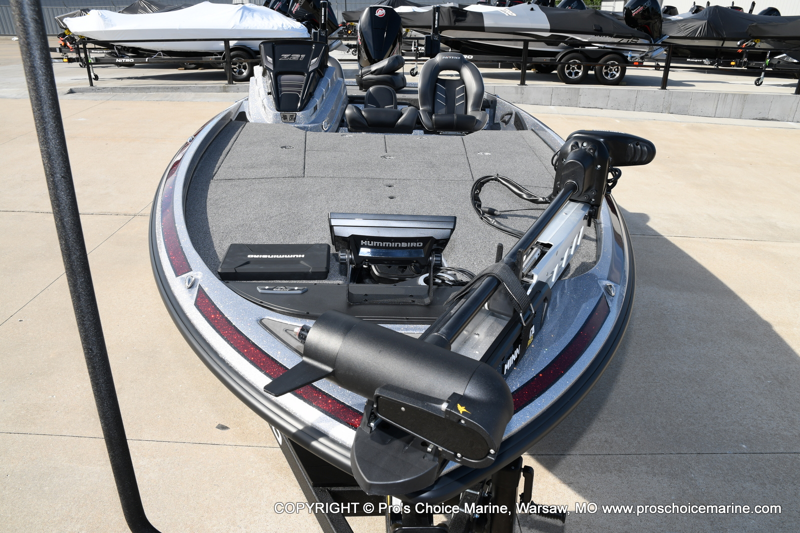 2021 Nitro boat for sale, model of the boat is Z21 Pro Package & Image # 31 of 50