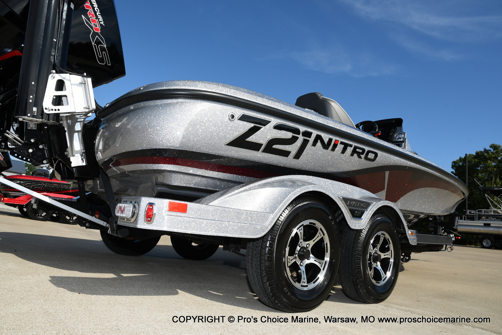 2021 Nitro boat for sale, model of the boat is Z21 Pro Package & Image # 35 of 50