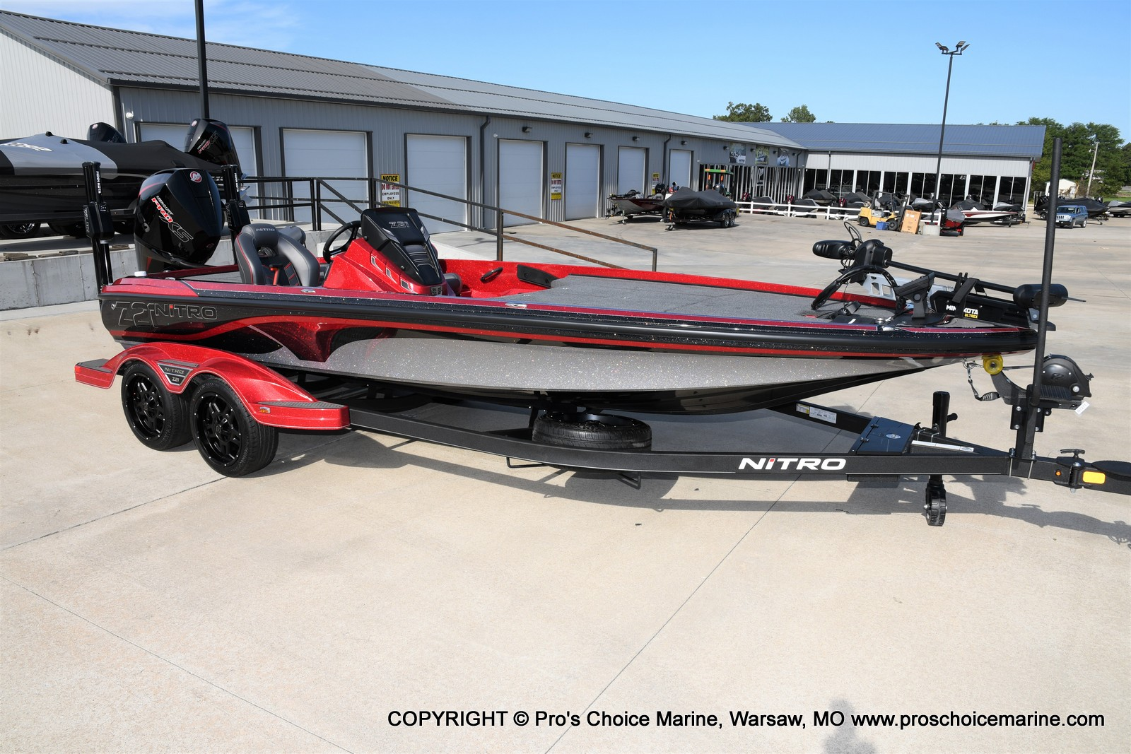 2021 Nitro boat for sale, model of the boat is Z21 Pro Package & Image # 1 of 50