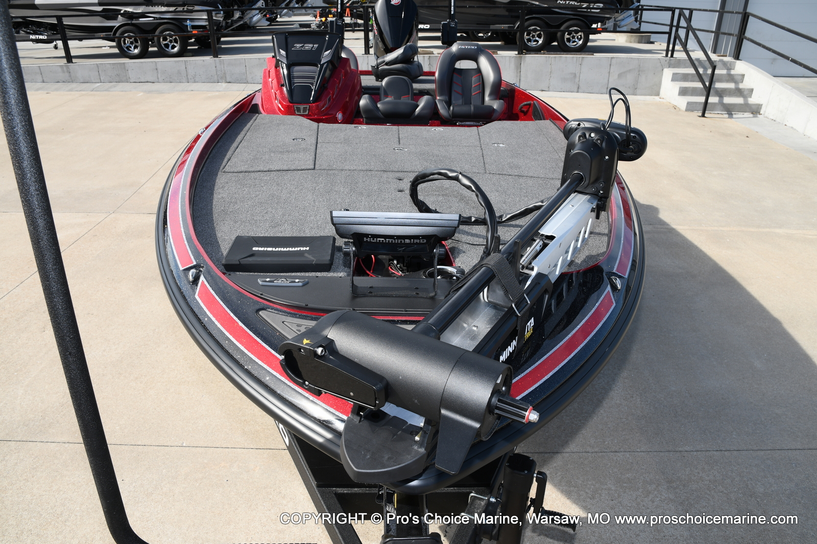 2021 Nitro boat for sale, model of the boat is Z21 Pro Package & Image # 4 of 50