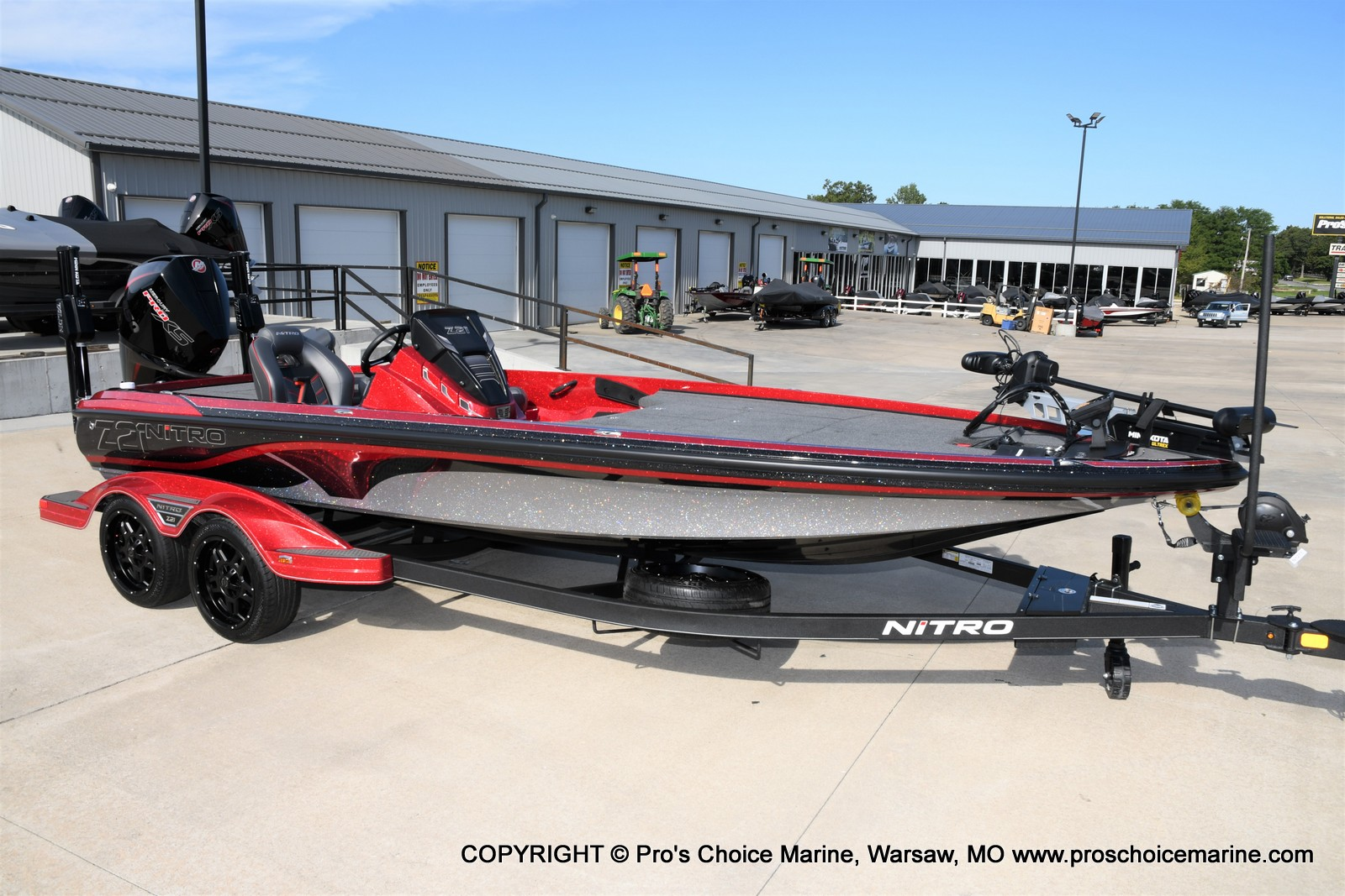 2021 Nitro boat for sale, model of the boat is Z21 Pro Package & Image # 44 of 50