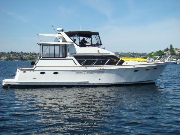 48 ocean alexander 1986 for sale in seattle lake union for Ocean yachts 48 motor yacht for sale